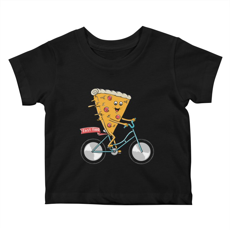 Bicycle Kids Baby T-Shirt by coffeeman's Artist Shop