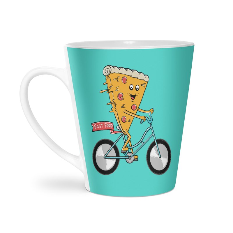 Bicycle Accessories Latte Mug by coffeeman's Artist Shop