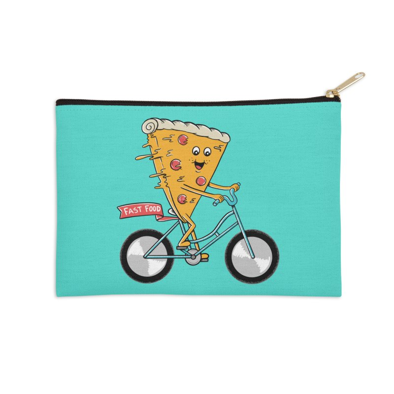 Bicycle Accessories Zip Pouch by coffeeman's Artist Shop