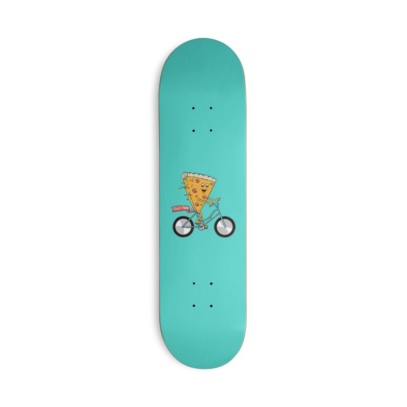 Bicycle Accessories Deck Only Skateboard by coffeeman's Artist Shop