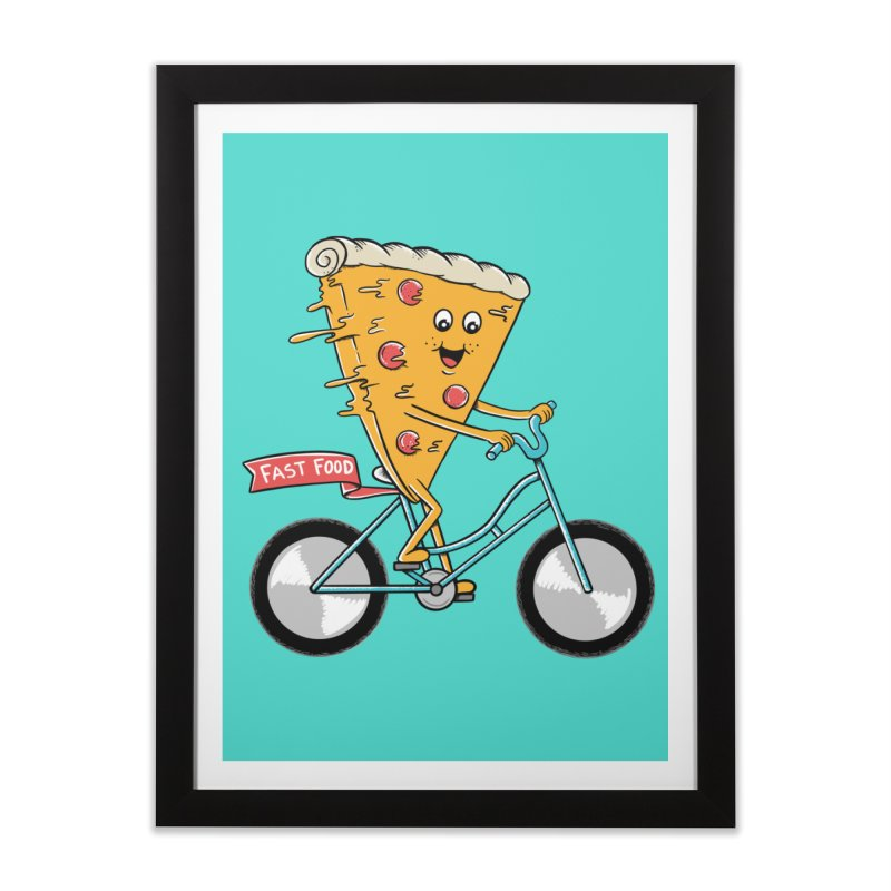 Bicycle Home Framed Fine Art Print by coffeeman's Artist Shop