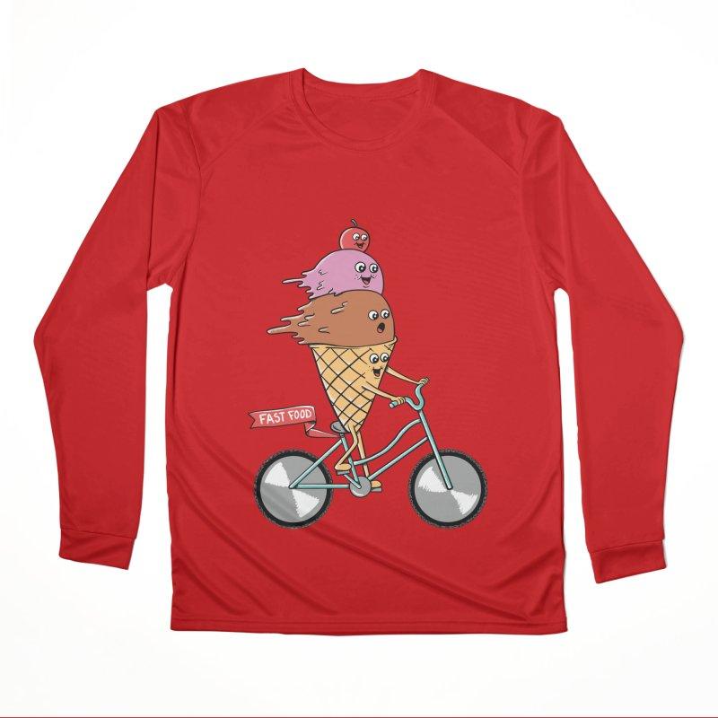 Bicycles Women's Performance Unisex Longsleeve T-Shirt by coffeeman's Artist Shop