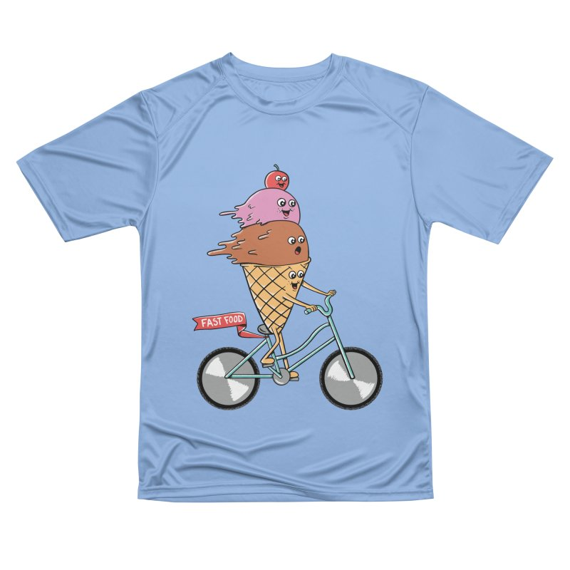 Bicycles Men's Performance T-Shirt by coffeeman's Artist Shop