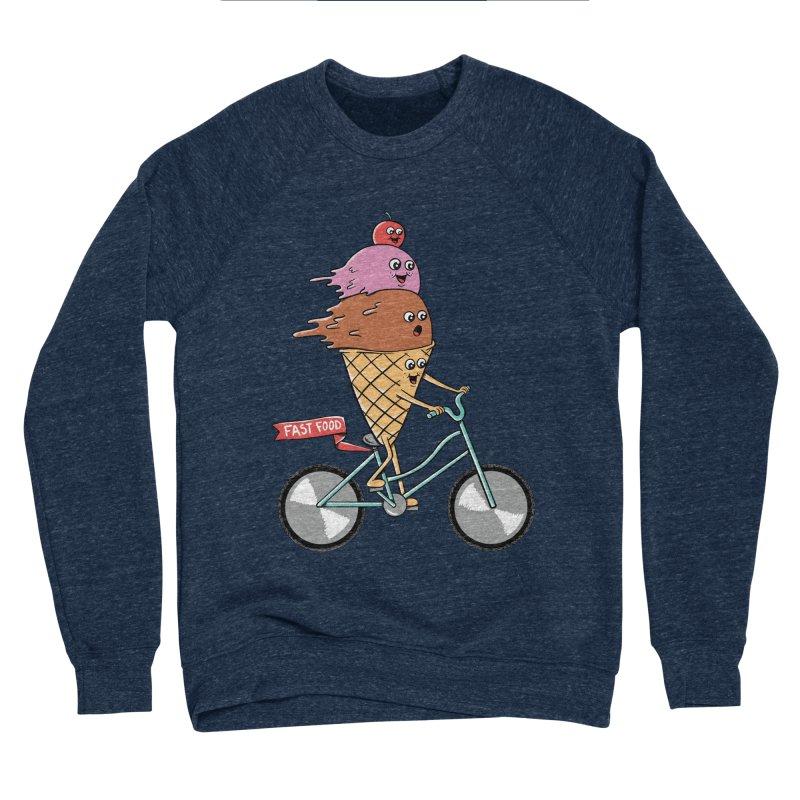 Bicycles Men's Sponge Fleece Sweatshirt by coffeeman's Artist Shop