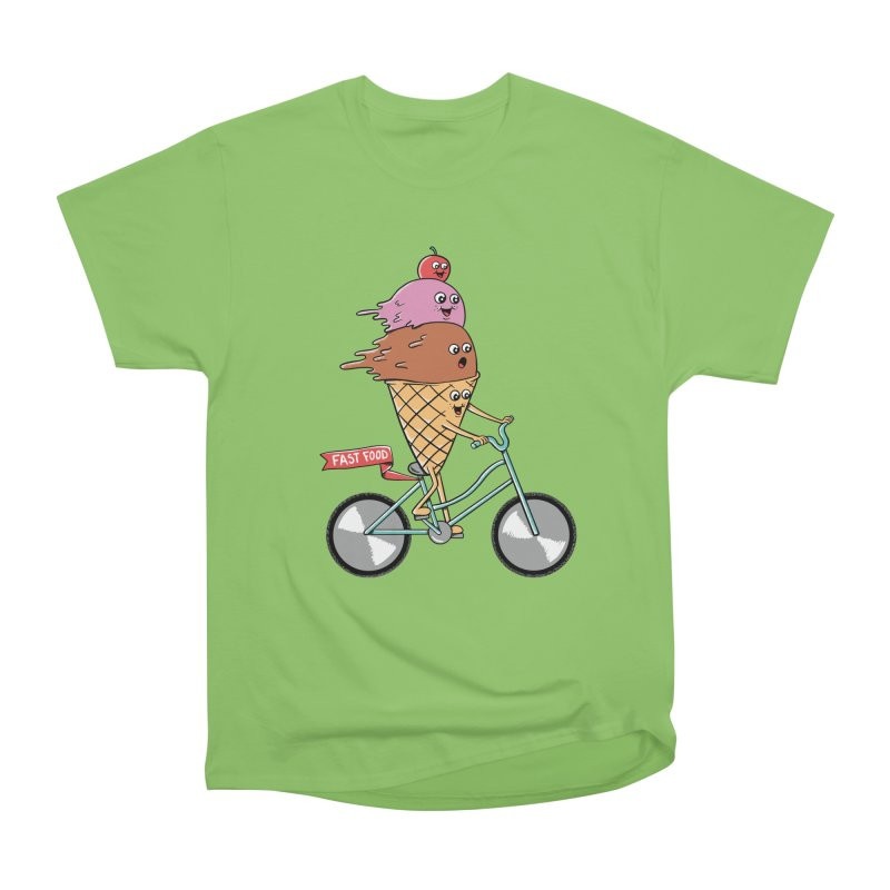 Bicycles Women's Heavyweight Unisex T-Shirt by coffeeman's Artist Shop