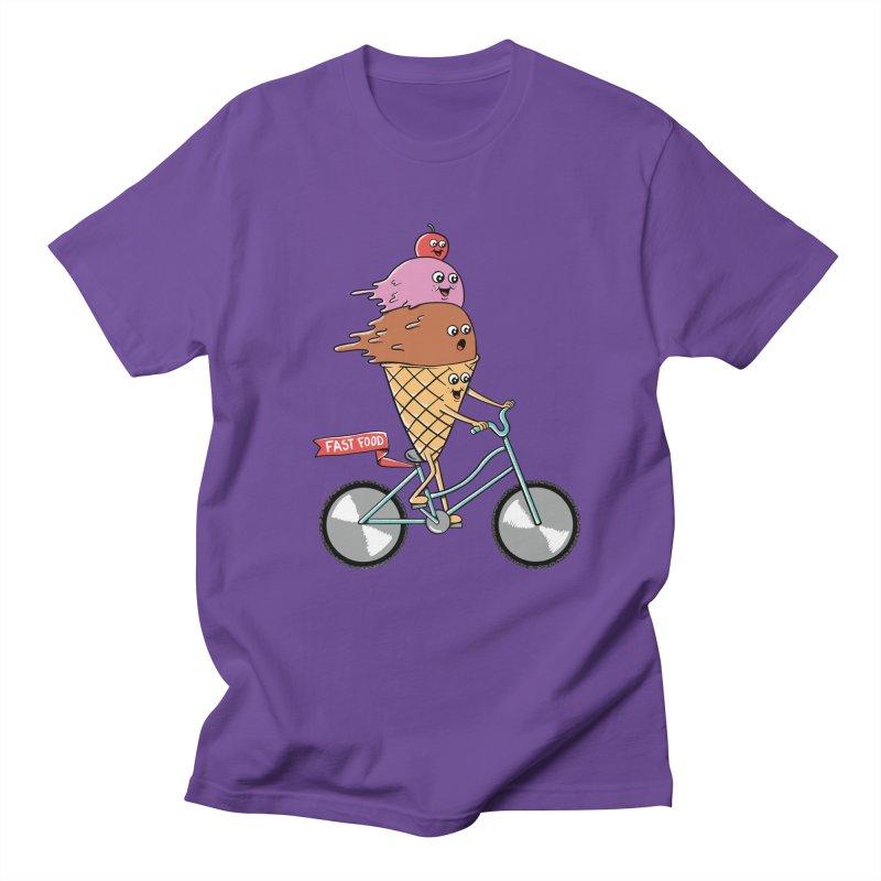 Bicycles Men's Regular T-Shirt by coffeeman's Artist Shop