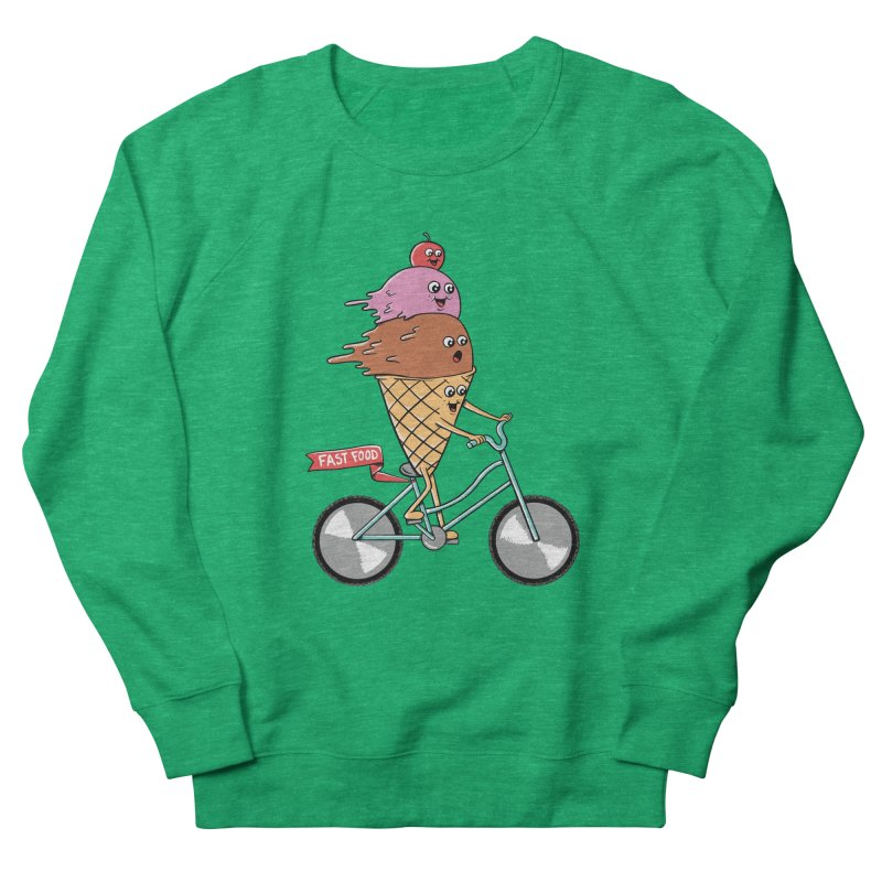 Bicycles Women's French Terry Sweatshirt by coffeeman's Artist Shop