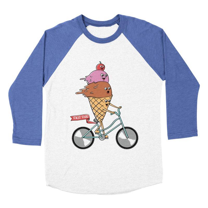 Bicycles Women's Baseball Triblend Longsleeve T-Shirt by coffeeman's Artist Shop