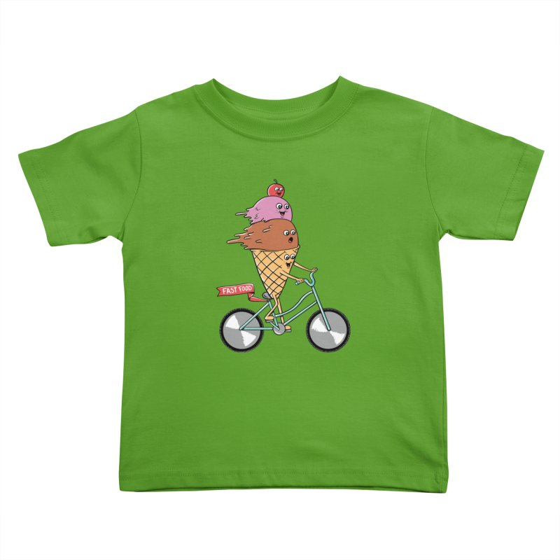 Bicycles Kids Toddler T-Shirt by coffeeman's Artist Shop