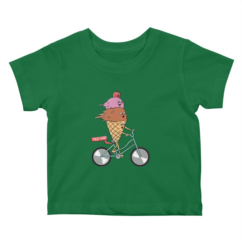 Bicycles Kids Baby T-Shirt by coffeeman's Artist Shop