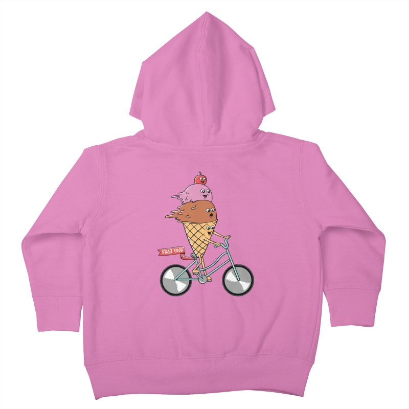 Bicycles Kids Toddler Zip-Up Hoody by coffeeman's Artist Shop