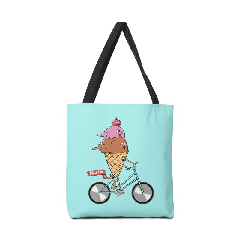 Bicycles Accessories Tote Bag Bag by coffeeman's Artist Shop