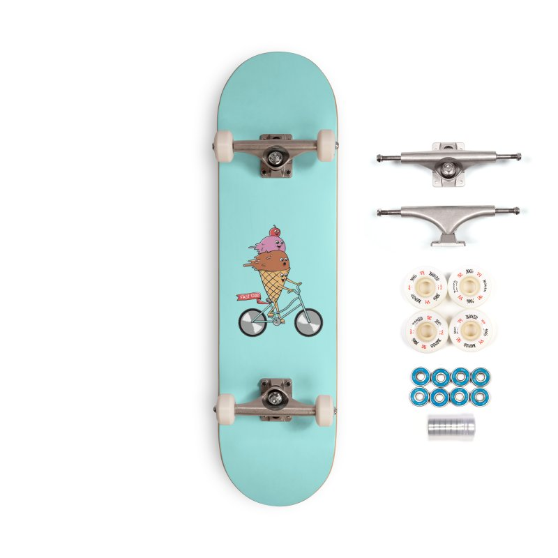 Bicycles Accessories Complete - Premium Skateboard by coffeeman's Artist Shop
