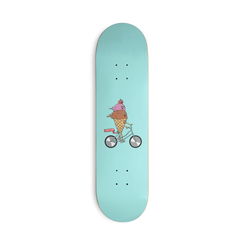 Bicycles Accessories Deck Only Skateboard by coffeeman's Artist Shop