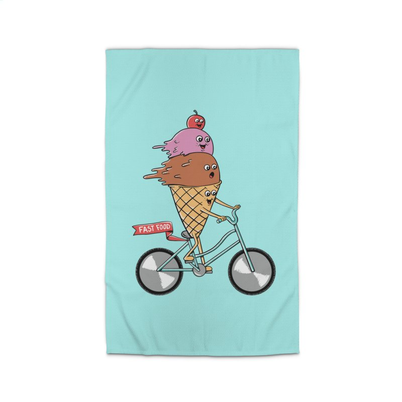 Bicycles Home Rug by coffeeman's Artist Shop