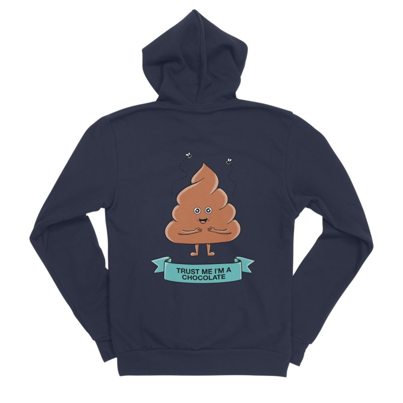 Funny Women's Sponge Fleece Zip-Up Hoody by coffeeman's Artist Shop