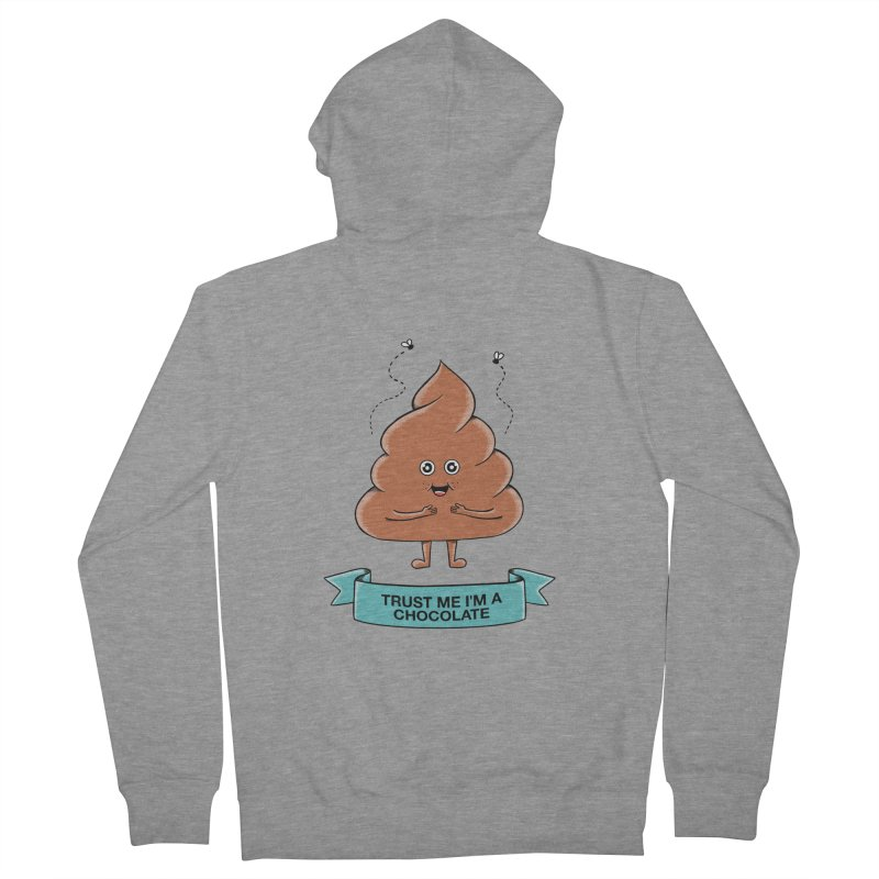 Funny Men's French Terry Zip-Up Hoody by coffeeman's Artist Shop