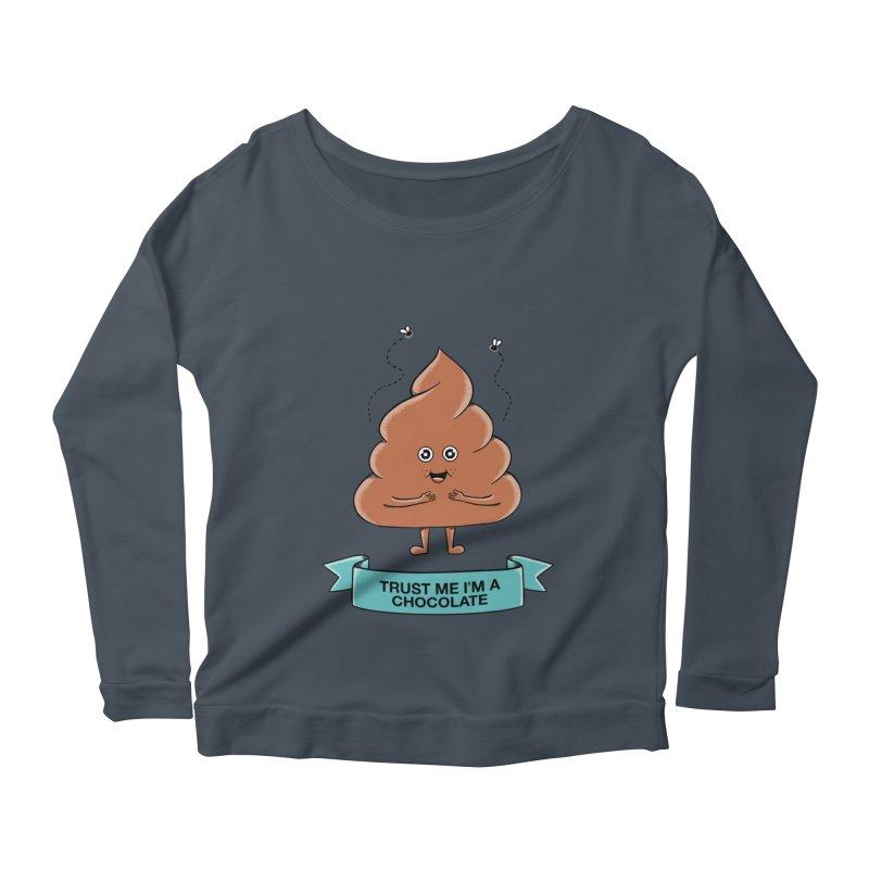 Funny Women's Scoop Neck Longsleeve T-Shirt by coffeeman's Artist Shop