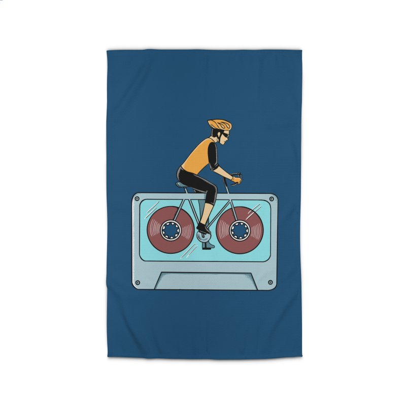 Bicycle Home Rug by coffeeman's Artist Shop