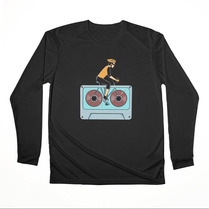 Bicycle Women's Performance Unisex Longsleeve T-Shirt by coffeeman's Artist Shop