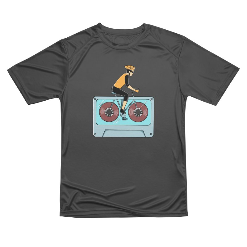 Bicycle Men's Performance T-Shirt by coffeeman's Artist Shop