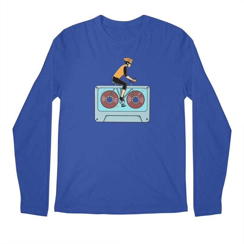 Bicycle Men's Regular Longsleeve T-Shirt by coffeeman's Artist Shop