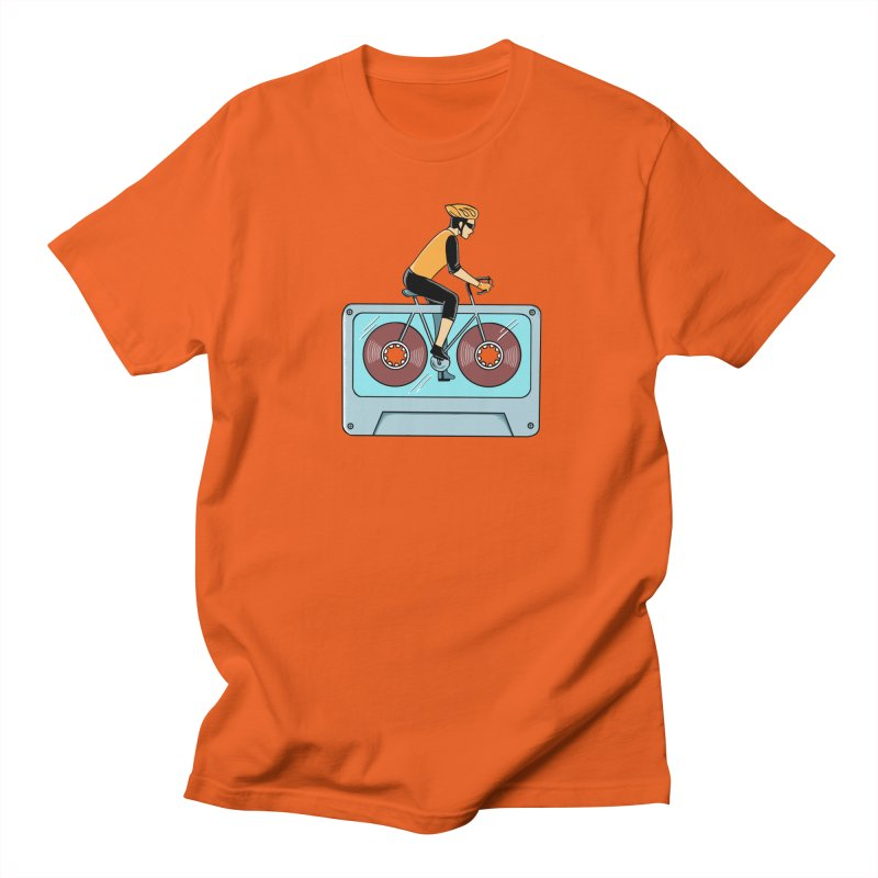 Bicycle Men's Regular T-Shirt by coffeeman's Artist Shop