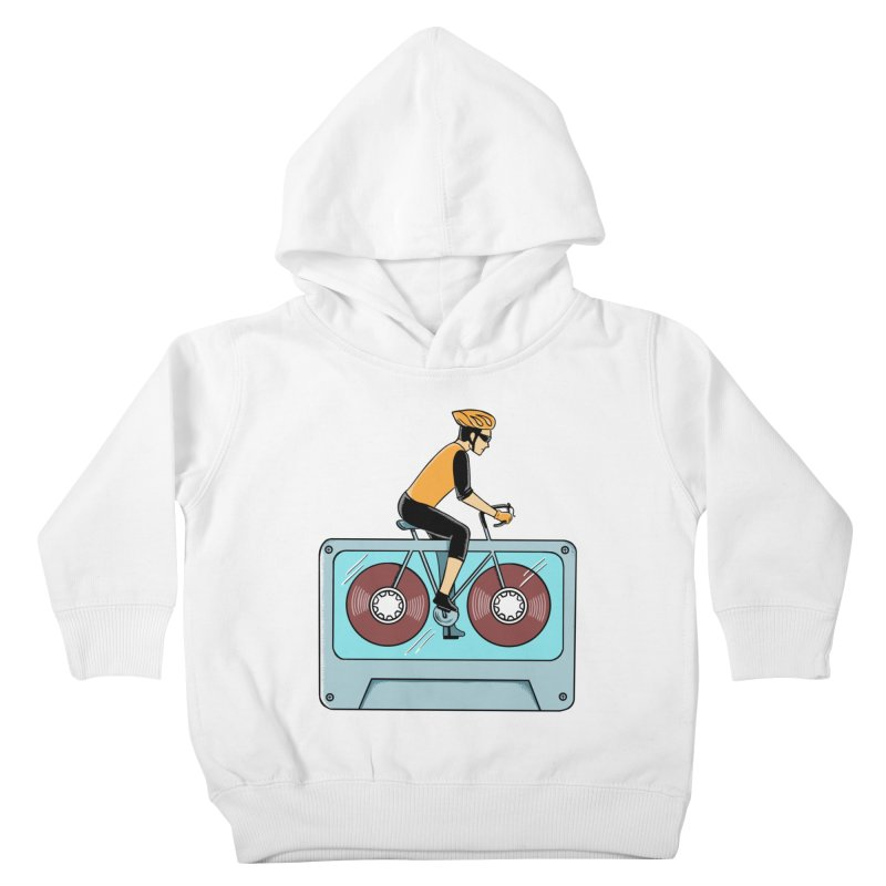 Bicycle Kids Toddler Pullover Hoody by coffeeman's Artist Shop