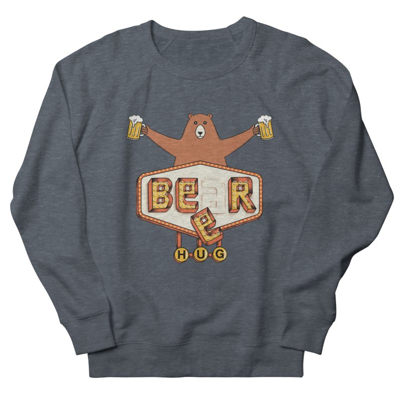 Beer Women's French Terry Sweatshirt by coffeeman's Artist Shop