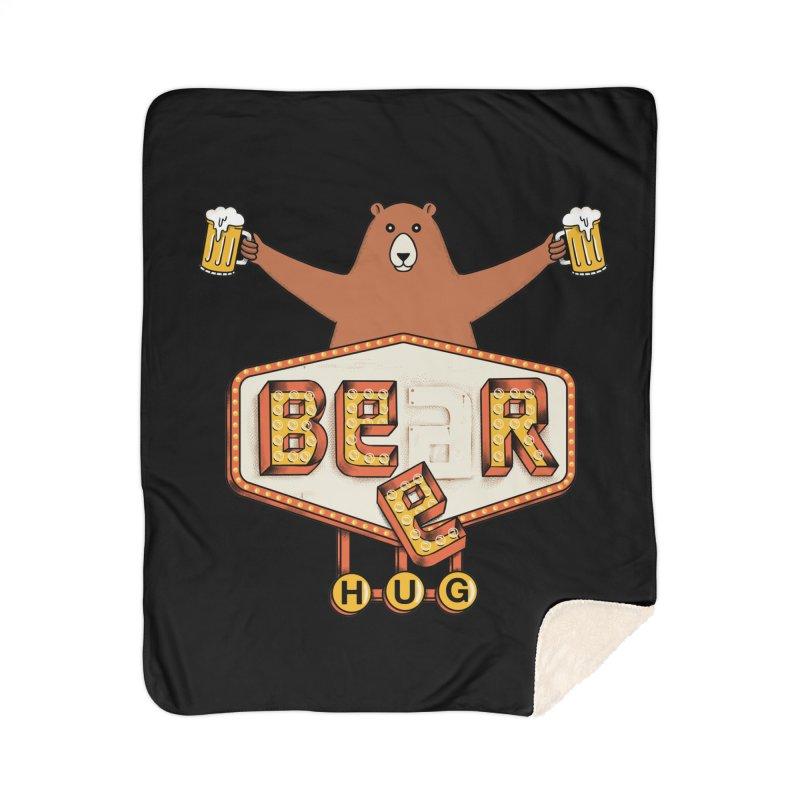 Beer Home Sherpa Blanket Blanket by coffeeman's Artist Shop