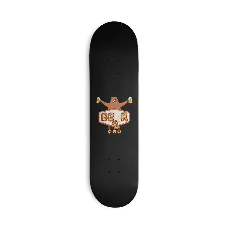 Beer Accessories Deck Only Skateboard by coffeeman's Artist Shop