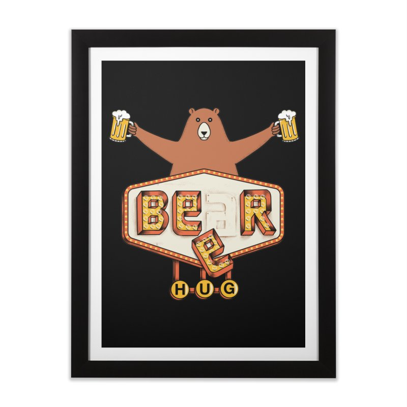 Beer Home Framed Fine Art Print by coffeeman's Artist Shop