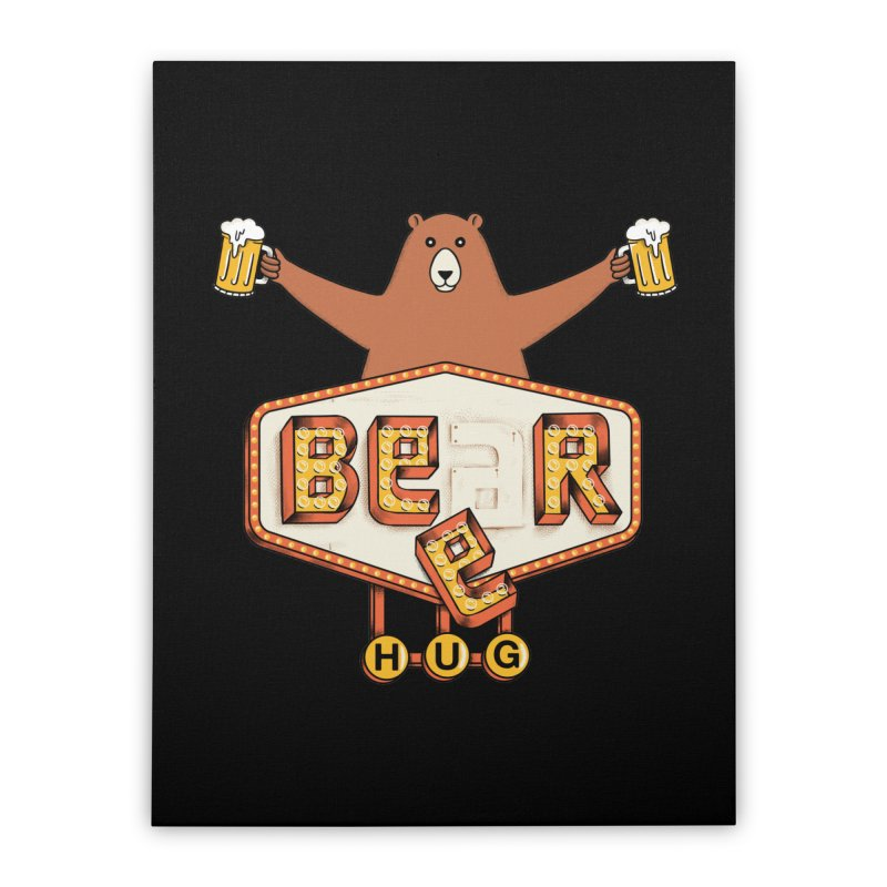 Beer Home Stretched Canvas by coffeeman's Artist Shop