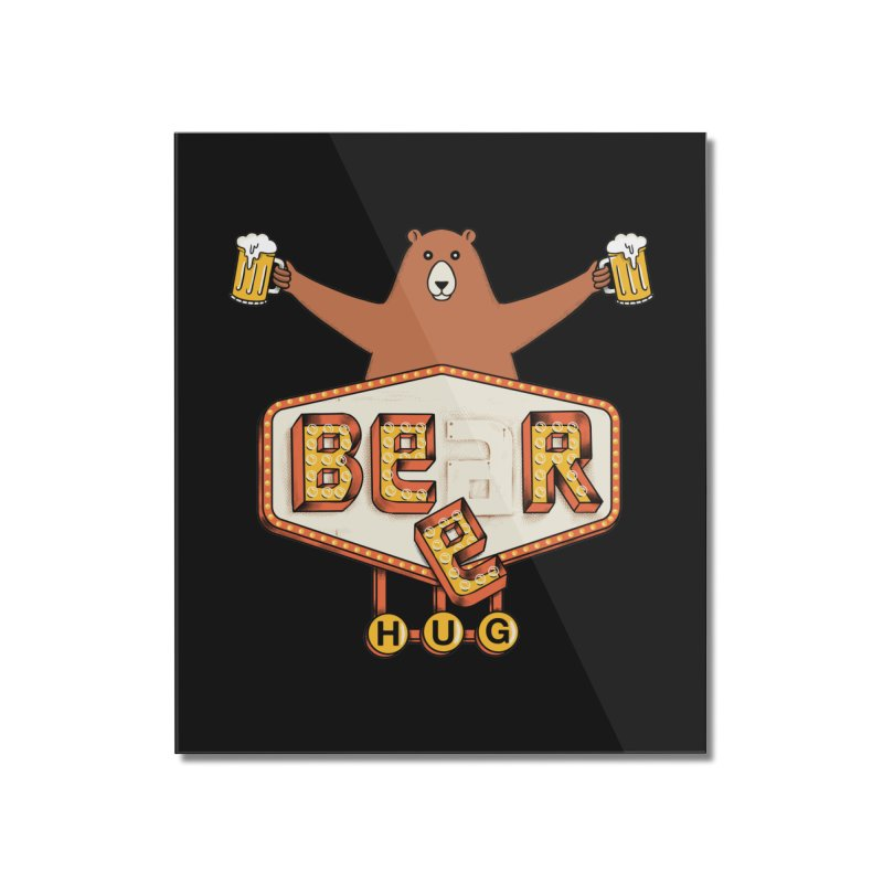 Beer Home Mounted Acrylic Print by coffeeman's Artist Shop