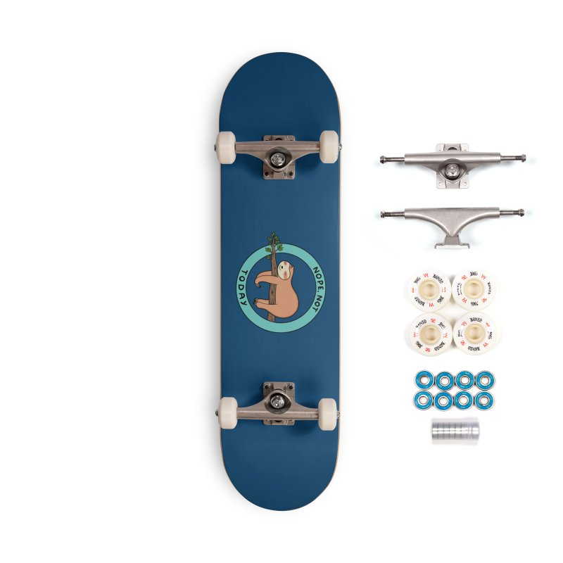 Sloth Accessories Complete - Premium Skateboard by coffeeman's Artist Shop