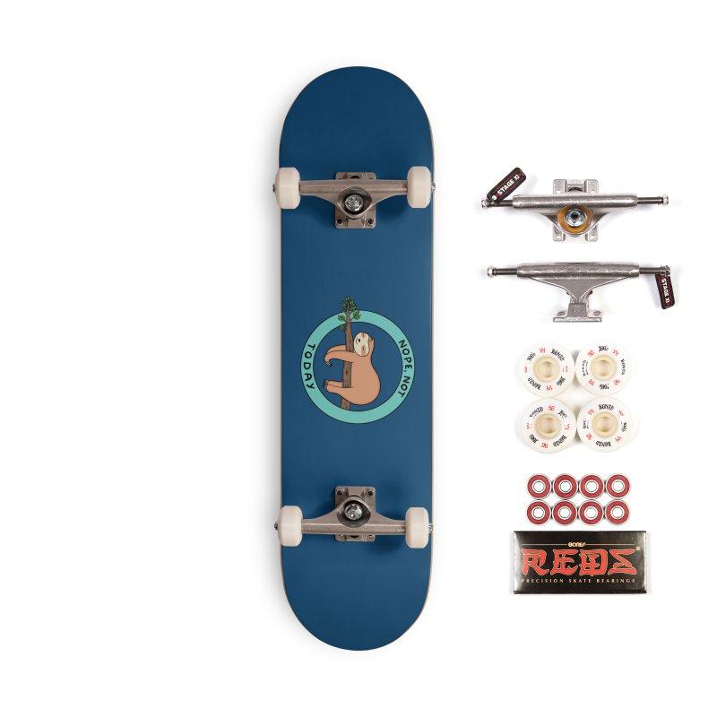 Sloth Accessories Complete - Pro Skateboard by coffeeman's Artist Shop