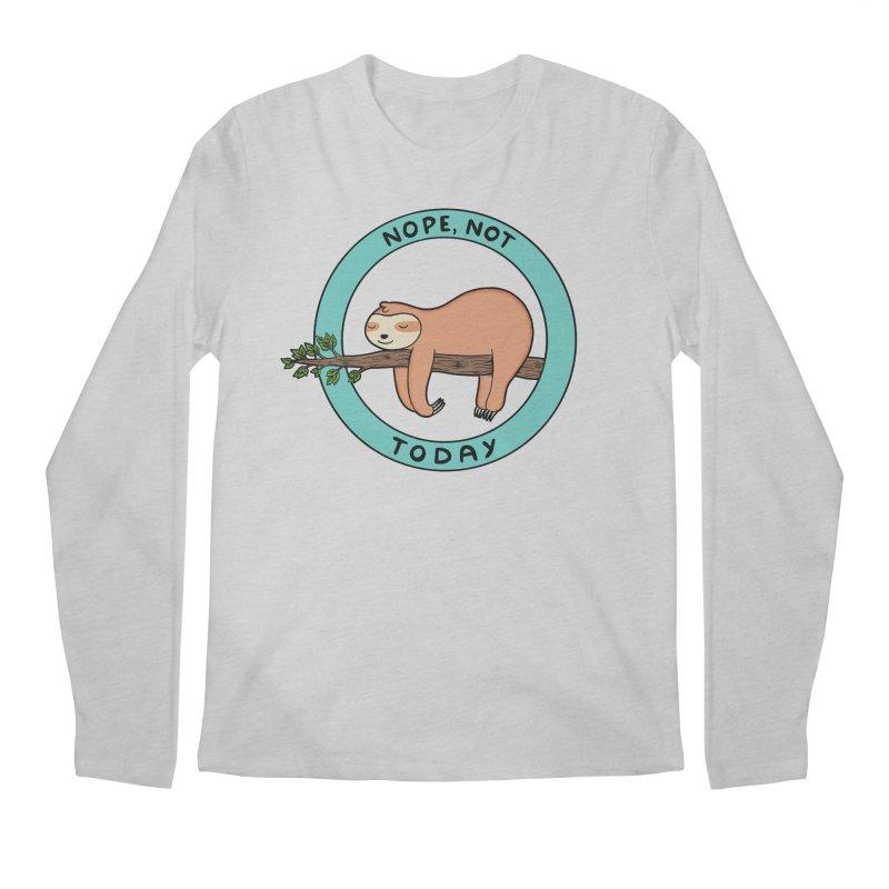 Sloth Men's Regular Longsleeve T-Shirt by coffeeman's Artist Shop