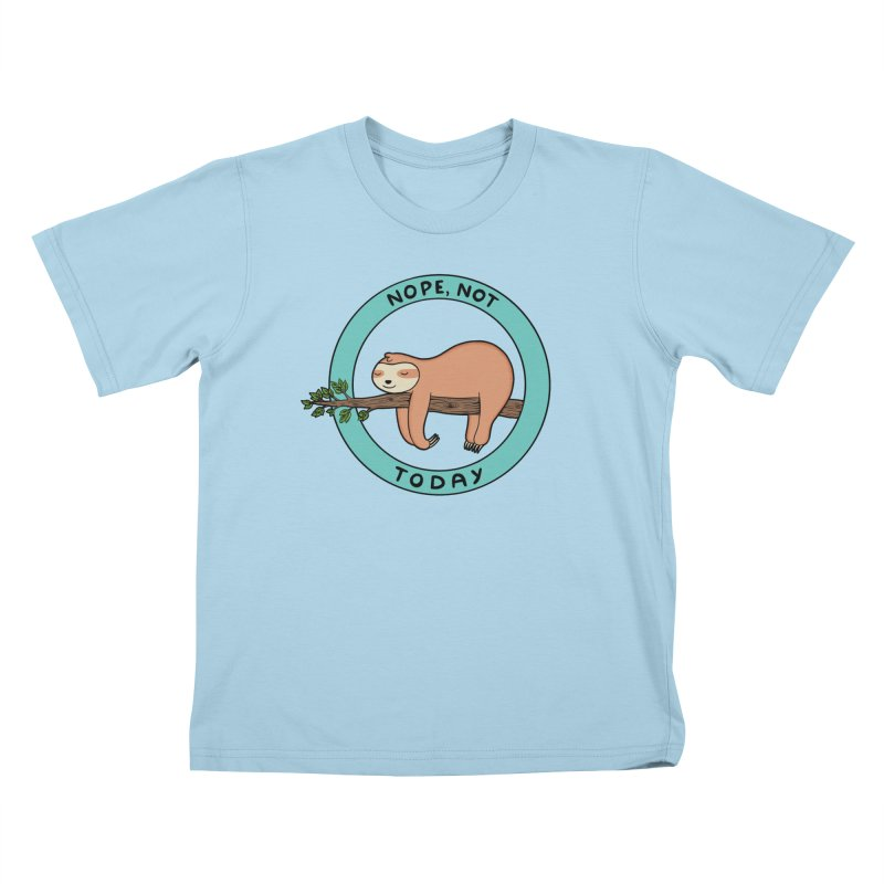 Sloth Kids T-Shirt by coffeeman's Artist Shop