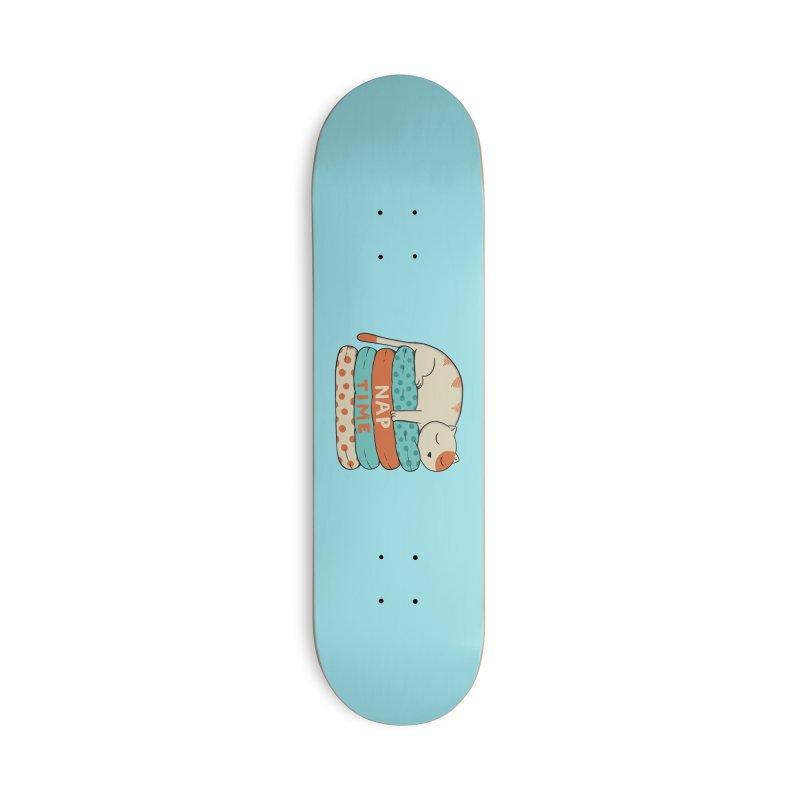 Cats Accessories Deck Only Skateboard by coffeeman's Artist Shop