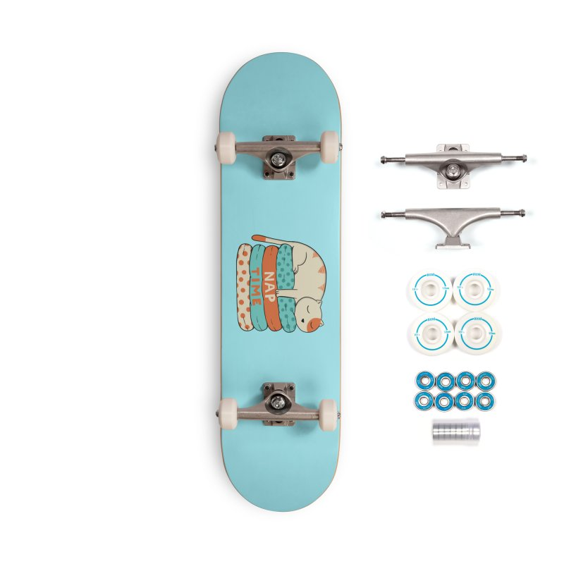 Cats Accessories Complete - Basic Skateboard by coffeeman's Artist Shop