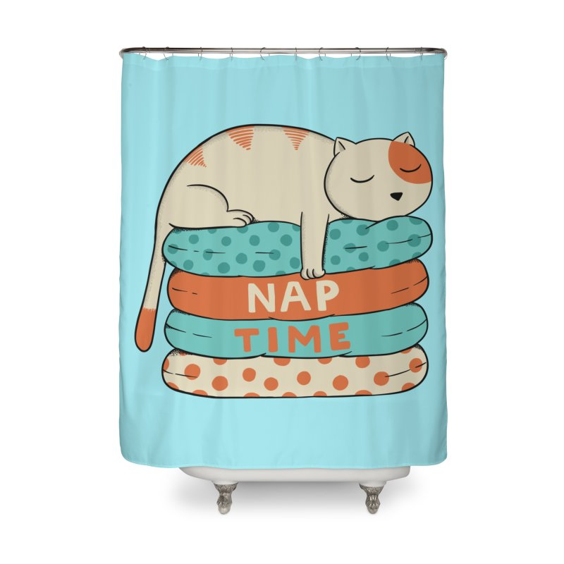 Cats Home Shower Curtain by coffeeman's Artist Shop