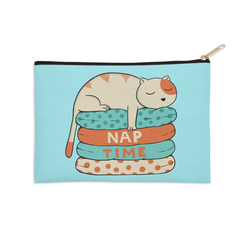 Cats Accessories Zip Pouch by coffeeman's Artist Shop