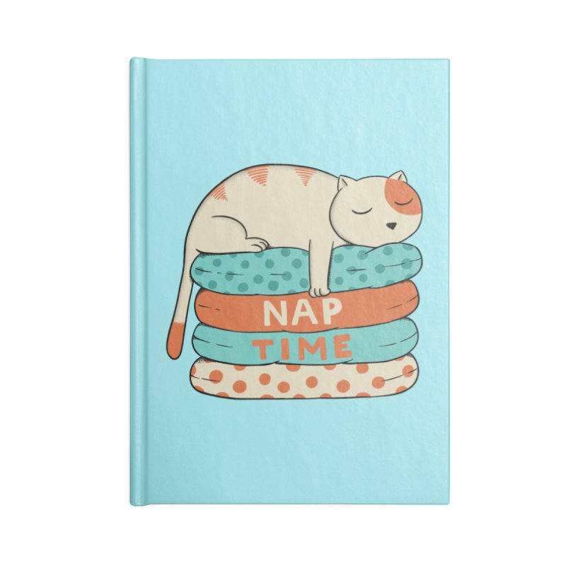 Cats Accessories Lined Journal Notebook by coffeeman's Artist Shop