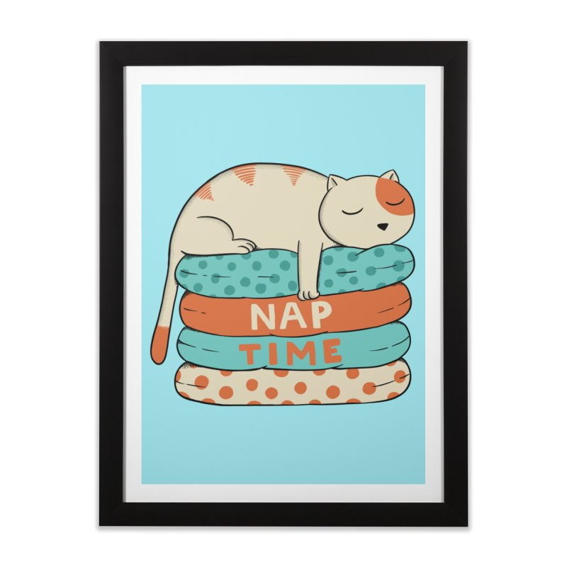 Cats Home Framed Fine Art Print by coffeeman's Artist Shop