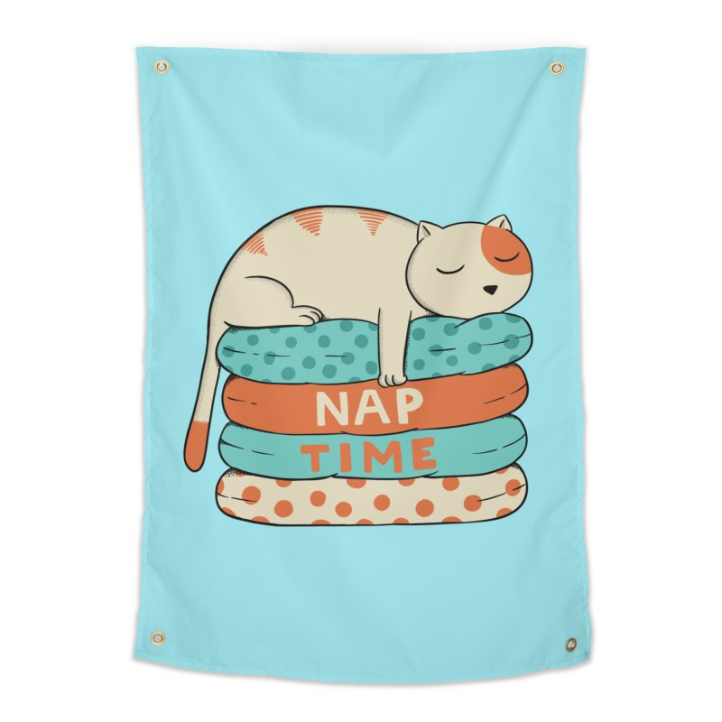 Cats Home Tapestry by coffeeman's Artist Shop