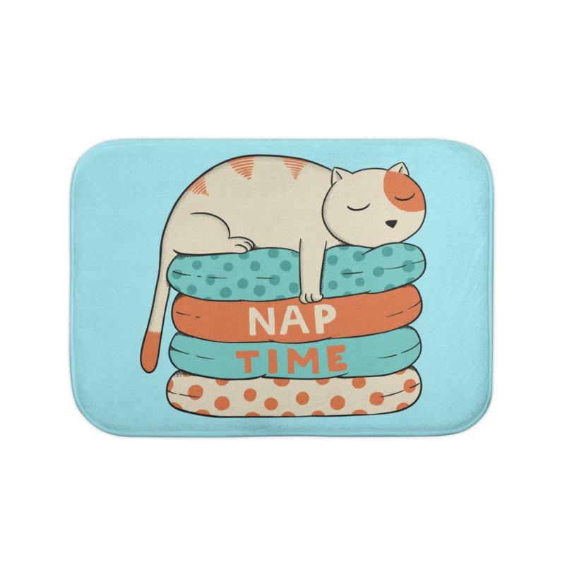 Cats Home Bath Mat by coffeeman's Artist Shop