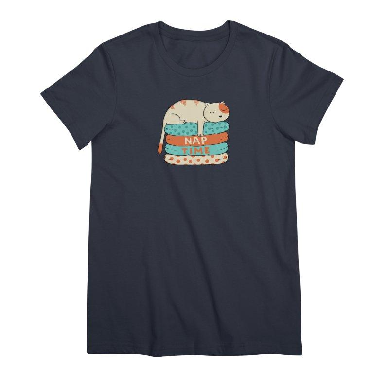 Cats Women's Premium T-Shirt by coffeeman's Artist Shop