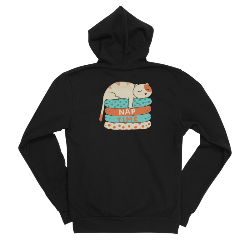 Cats Women's Sponge Fleece Zip-Up Hoody by coffeeman's Artist Shop