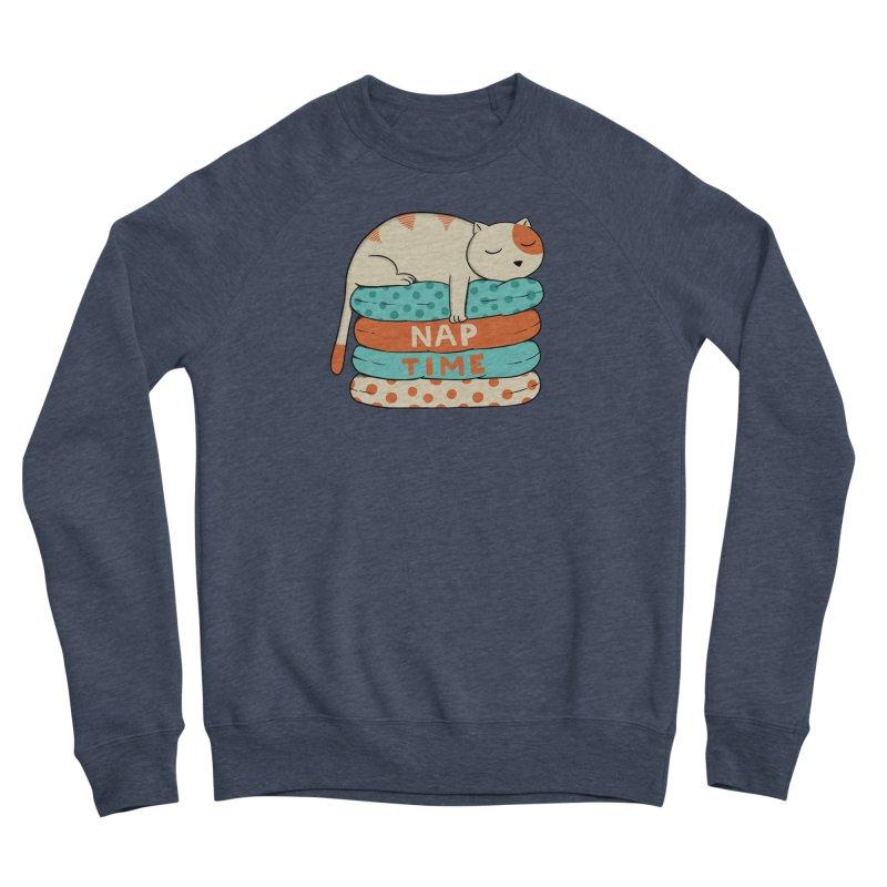Cats Women's Sponge Fleece Sweatshirt by coffeeman's Artist Shop