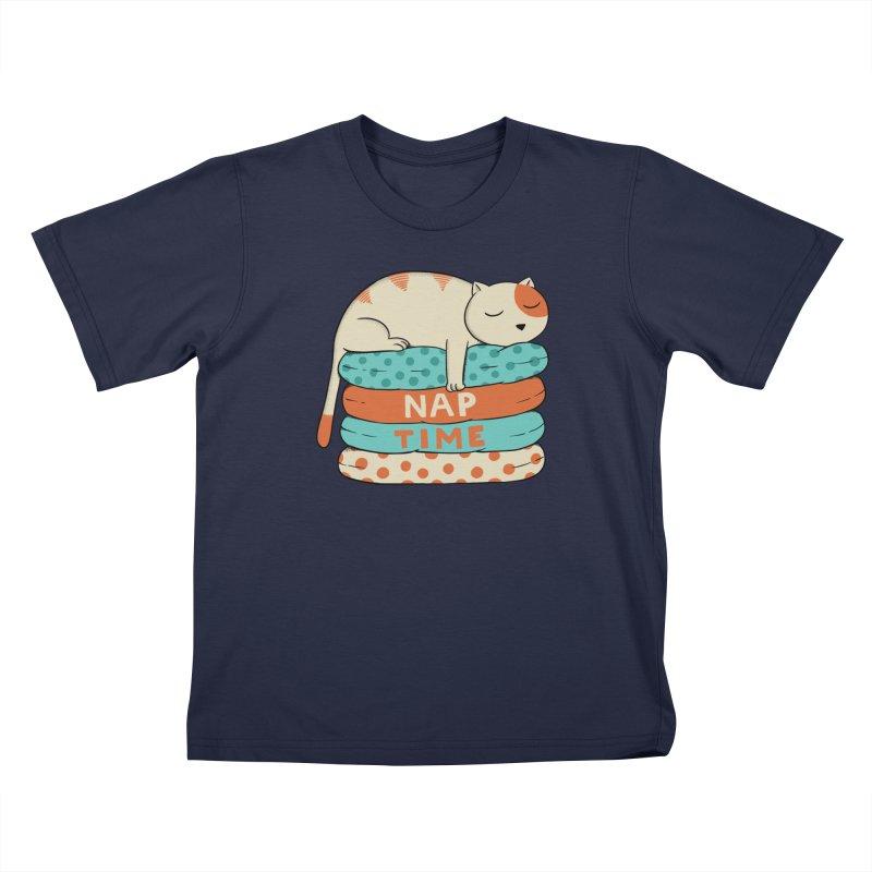 Cats Kids T-Shirt by coffeeman's Artist Shop